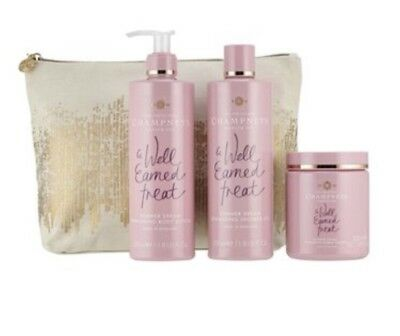 The Original Champneys Health Spa A Moment To Dream Wash Bag Gift Set New