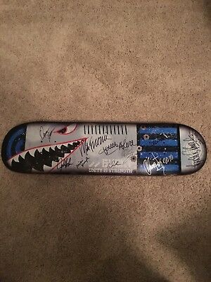2010 Journeys Backyard BBQ Autographed Deck