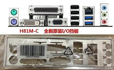 OEM I//O Shield For ASUS H81M-C//C//SIMotherboard Backplate IO