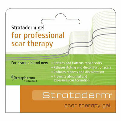 Strataderm Scar Therapy Gel Choose 5G 10G 20G 50G Flattens Raised Scars