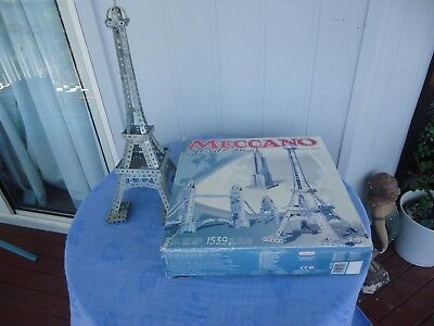 meccano eiffel town london tower bridge empire state building  0509 set