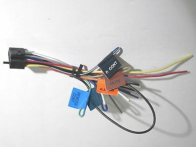 Original Kenwood Ddx393 Wire Harness Oem A1 kenwood original wire harness ddx271 ddx371 $13 50 picclick kenwood ddx371 wiring harness at bakdesigns.co