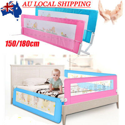 1.5m / 1.8m Child Toddler Safety Bed Rail Baby Bedrail Fold Cot Guard Protection