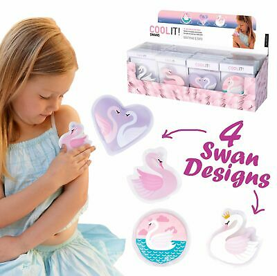 COOL IT SWANS - Kids Cold or Hot Pack Bump Bruises Injury Soother Reusable!!!