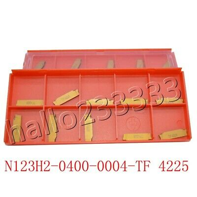 10*  N123H2-0400-0004-TF 4225 Carbide Inserts Cutter For Turning Tool Boring Bar