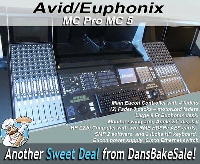 Avid Technology Euphonix MC Pro MC 5 With 20 Faders From Working Pro Tools Bay