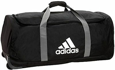 d4ece425234 Duffle Bag Adidas Team XL Messenger Duffle Sports Gym Rolling Wheel Bag NEW