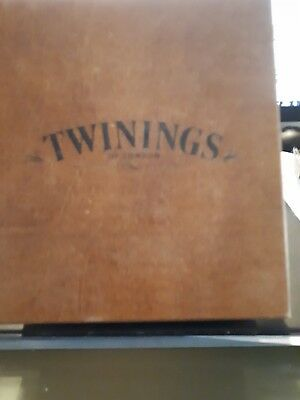 twinings wooden tea boxes