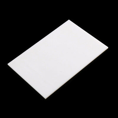 White Acrylic Plexiglass Sheet PMMA Plastic Panel 8x8cm-30x40cm DIY Model Craft