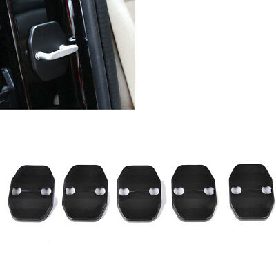 5pcs Door Lock Protective Cover Fit for Jeep Wrangler Compass Patriot Cherokee