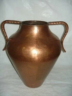 Amphora Umbrella Holder New Copper Vintage Years' 70