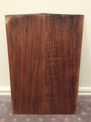 Figured Slight Fiddleback Blackwood Guitar Drop Top ,Luthier, Box Making, #2