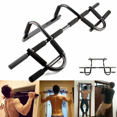 Heavy Duty Body Fitness Building Pull Up Bar Strength Sit Up Dips Training Bars