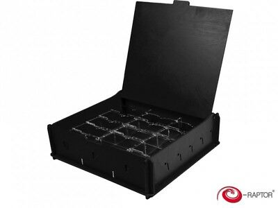 E-Raptor Universal Storage Box Medium Black pour jetons dés 2250 cartes 190054
