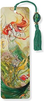 Mermaid Beaded Bookmark Accessories Easy Identify the Page Left While Reading