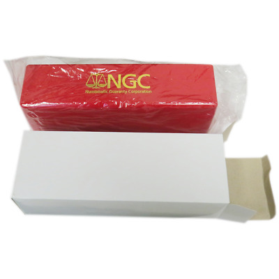 NGC Red Storage Box for 20 Individual Certified Coins Brand New