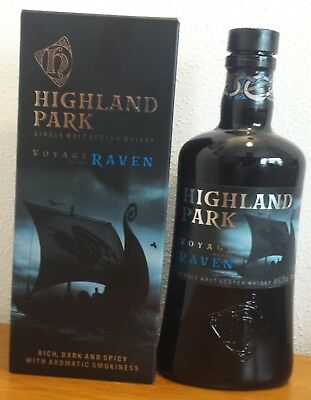 Highland Park Voyage of the Raven – leere Dekoflasche