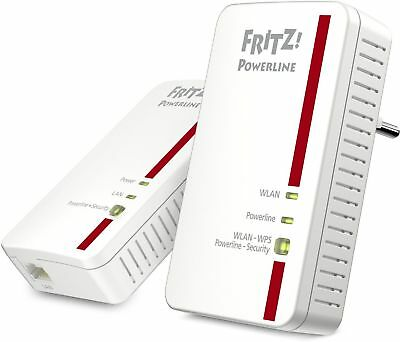 AVM FRITZ!Powerline 1240E WLAN Set Weiss