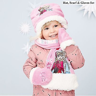 Frozen Hat, Scarf & Mitts set (Brand New Sealed In Bag)