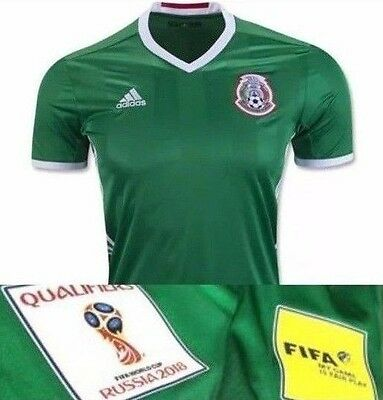 Mexico Soccer Futbol Adidas Jersey - Customized Patches