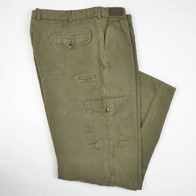 Jagdhund Hose Pants Gr 28 56SH XL Grün Green Baumwolle Cotton Hunting Pants Carg