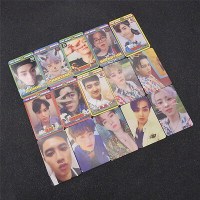 EXO Photo Card Collective Photocard  The Power of Music Lovely Gift Starstruck