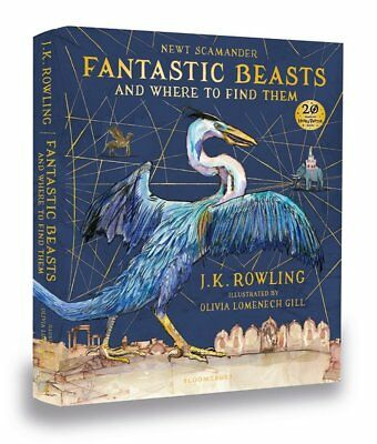 Fantastic Beasts Where to Find Them Illustrated Hardback Book Harry Potter Gift