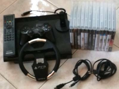 Sony Ps3 Playstation 3 Superslim 500Gb + 12 Giochi + Accessori