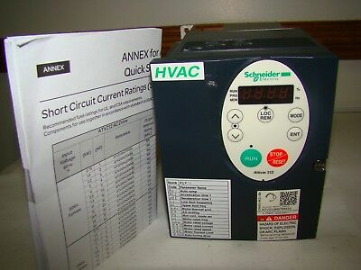 Schneider ATV212H075M3X Variable Frequency Drive, New