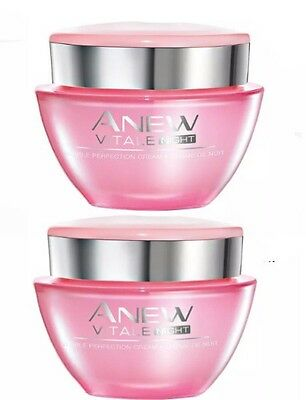 (PACK OF 2) Anew Vitale Night Gel Cream  50ml (New & Sealed) (RRP £20.00)