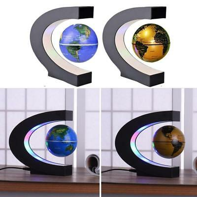 Levitation Anti Gravity Globe Magnetic Floating Globe World Map with LED Light P