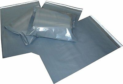 Strong Grey Coloured Plastic Mailing Post Poly Postage Bags Self Seal