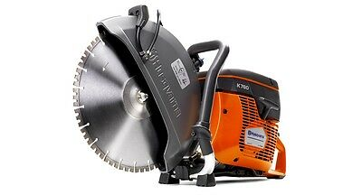 "NEW Husqvarna K760 14"" Concrete Cutoff / Demo Saw w/ 14"" VH5 Diamond Blade"