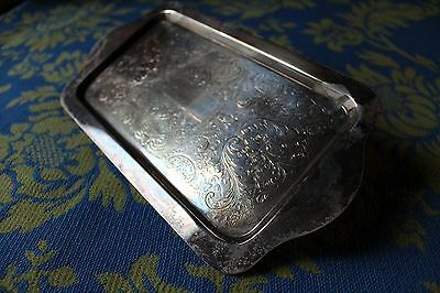 Antique F B Rogers Silver Set-1883 Small Tray Vintage  1083