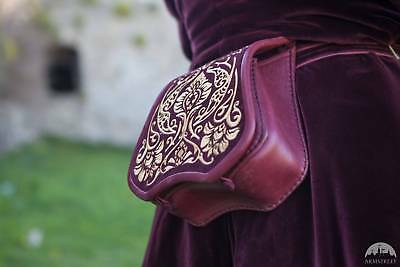 Knight of the East - Medieval Leather Pouch