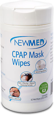 Newmed CPAP Mask Wipes, NEW MED, 62 wipes 1 pack