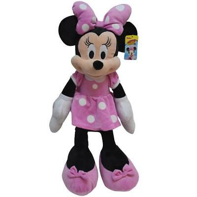 Disney Pink Minnie Mouse Large Stuffed Animal 25 Inches Plush Soft