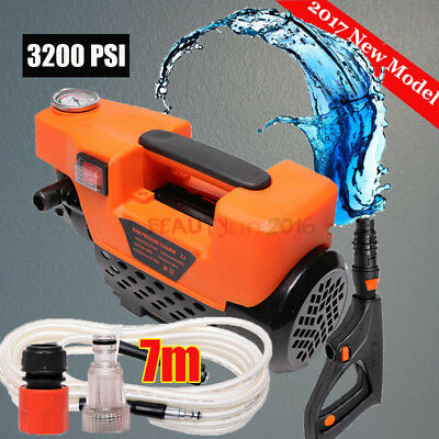 Blast Jet Pressure Washer Cleaner Electric Water Gun Nozzle Gurney Pump Hose NEW