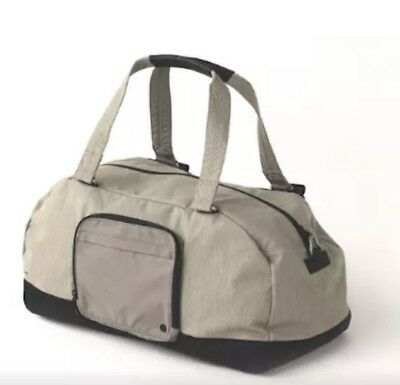 Lululemon City Sweat Duffle With Adjustable Shoulder Strap -Soft Earth -NWT $138