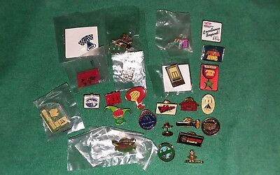 LOT OF (25) -- McDonald's COLLECTABLE Lapel PIN'S