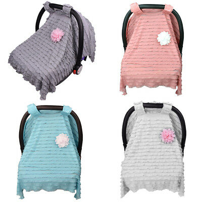 Multi-Use Stretchy Newborn Infant Nursing Cover Baby CarSeat Canopy Cart Cover Y