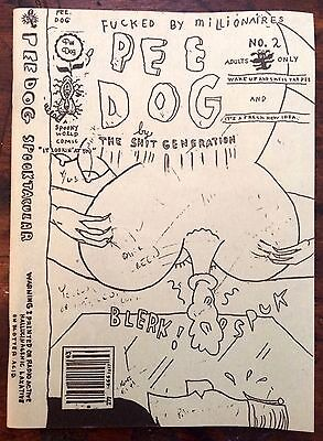 Pee Dog #2 - Gary Panter - 1986 - hard to find!