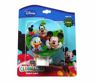 Disney Mickey Mouse & Friends Kids Room Bathroom Kitchen Night Light
