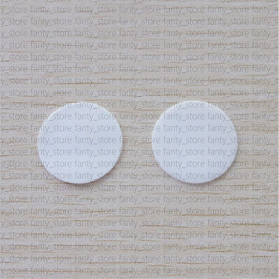2PCS ROUND HIGH PURITY ALUMINA CERAMIC DISK PLATE SUBSTRATE 51mm*2mm #A95P LW