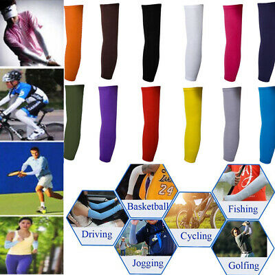 2pcs Summer Cooling Arm² Sleeves² Cycling Biking Sport Sun Protection UV Cover
