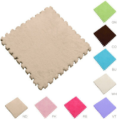 1Pcs 30x30cm Living Room Carpet Baby Kids Play Crawl Mat Puzzle Area Rugs Tatami