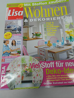 lisa wohnen dekorieren 6 2016 zeitschrift eur 1 00. Black Bedroom Furniture Sets. Home Design Ideas