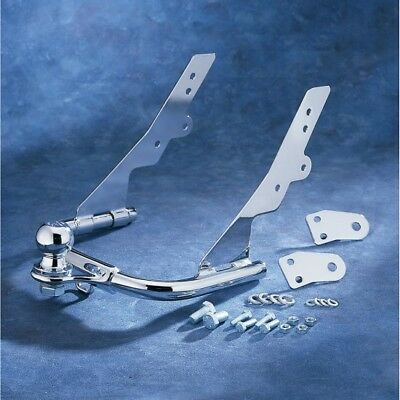 Trailer bumper hitch with 1-7/8 ball chrome... - Khrome werks DS720554 (720555C)