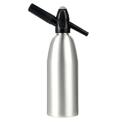 New Aluminum 1000ML Soda Syphon Siphon Maker Bar Home Brew Seltzer Make Tool