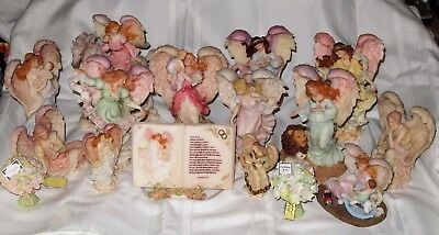Large Collection of Seraphim Angels